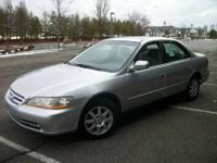 BEAUTIFUL 2002 HONDA ACCORD EX 114K MILES AUTO TRANS