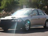 Up for sale is my 2002 Honda Accord EX. I am leaving