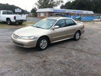 2002 Honda Accord EX model fully loaded leather power