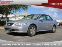 2002 Honda Accord EX V6 Sedan, *** FLORIDA OWNED