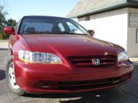 Options Included: N/A2002 HONDA ACCORD EX. Mechanically
