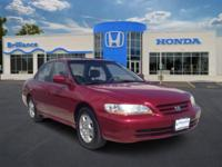 2002 Honda Accord Sdn 4dr Car EXV6 Our Location is: