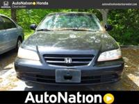 2002 Honda Accord Sdn. Our Area is: AutoNation Honda