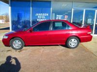 Here is a 2002 Honda Accord EXL V6 that ds not show its