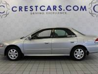 This 2002 Honda Accord Sdn EX Auto w/Leather is offered