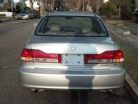 This is a Silver 2002 Honda Accord V6 for sale. I am