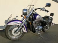 2002 VT 1100 Shadow Motorcyle just traded into Premier