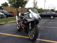 Very Clean 2002 Honda CBR 954RR. Has simply over 18,000