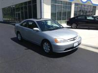 2002 Honda Civic 2dr Car EX Our Location is: Brilliance