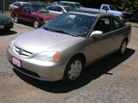 Options Included: N/AThis 2 door Honda like all Honda's
