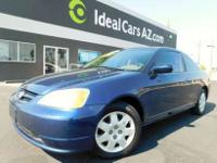 2002 HONDA CIVIC !!! 120,318 miS! ICE HOLD AC!!THIS