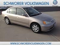 This outstanding example of a 2002 Honda Civic EX is