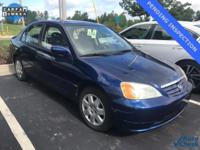 2002 Honda Civic EX. Gasoline! Your satisfaction is our