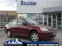 Body Style: Sedan Engine: I4 Exterior Color: Maroon
