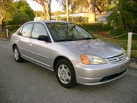 For Sale: Honda Civic LX, 2002 4 cyl. engine 1,7 liter,