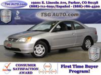 **** JUST IN FOLKS! THIS 2002 HONDA CIVIC LX HAS JUST