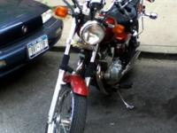 2002 Honda Rebel, in excellent condition. Always