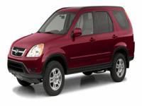 Options:  2002 Honda Cr-V Ex|They Say All Roads Lead To