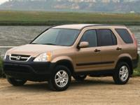Flatirons Imports is offering this 2002 Honda CR-V EX,