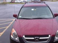 About to sell a well maintained 2002 Honda CR-V EX