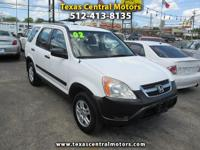 Very nice 2002 Honda CRV. 4 Cylinder engine gets