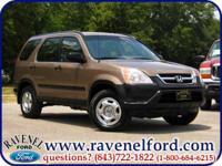 Options Included: 2002 Honda CR-V LX ** Low Miles Local