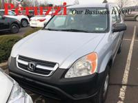 Clean CARFAX. 2002 Honda CR-V LX AWD 4-Speed Automatic