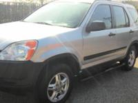 2002 honda crv engine 4-cyl 2.4 liter automatic all