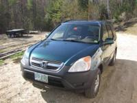 2002 Honda CRV AWD SUV EX model with all the extras