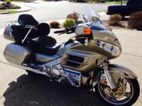 165K miles. Well maintained by a Gold Wing shop in