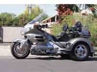 2002 Honda Goldwing GL1800 Motorcycle with Champion