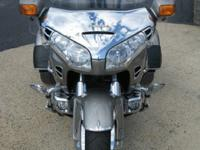 2002 Honda GL1800 Gold Wing that has been converted to