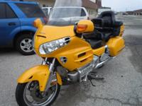 2002 Honda Goldwing GL 1800. 2002 Honda GL1800 Goldwing