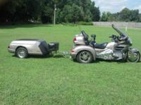 2002 Honda Goldwing GL1800 Trike. This Touring cycle