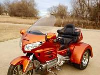2002 Honda GL1800 Goldwing Trike. Completely gone over