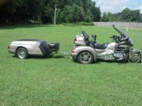 2002 Honda Goldwing GL18002 Trike This Touring cycle