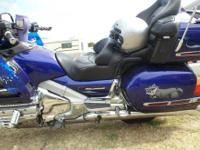 2002 HONDA GOLDWING 1800 . All Honda accessory but ABS.