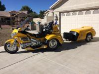 2002 Honda Gold Wing 1800 with 2004 Lehman Monarch