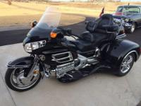 2002 Honda Goldwing with a California Sidecar Trike
