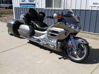 2002 Honda Gold Wing Includes GPS and the trailer! Hear