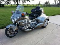 Honda Gold Wing Roadsmith Trike with EZ Steer Rake:
