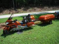 2002 HONDA GOLD WING GL1800 With Trailer-This bike is