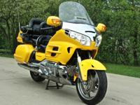 2002 Honda Gold Wing GL1800 - Yellow is One of the