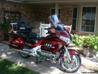 In Amarillo, 2002 Goldwing 1800. 29,000 miles, bike is