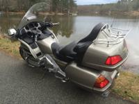 This is a super nice Goldwing that has been very well
