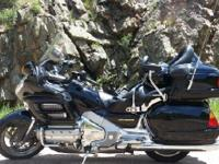 Beautiful Honda Goldwing, comes with numerous upgrades.