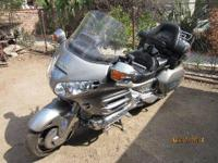 2002 Honda Goldwing, New tires, brakes, & & battery.