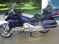 2002 Honda Goldwing GL 1800. I am the original owner.