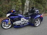 THIS BIKE IS A BEAUTIFUL ILLUSION BLUE IN COLOR. IT HAS