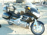 ... Black and Chrome Goldwing GL1800 ... ... 2002 with